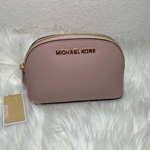 Michael Kors Pink Blossom Jet Set Travel Pouch